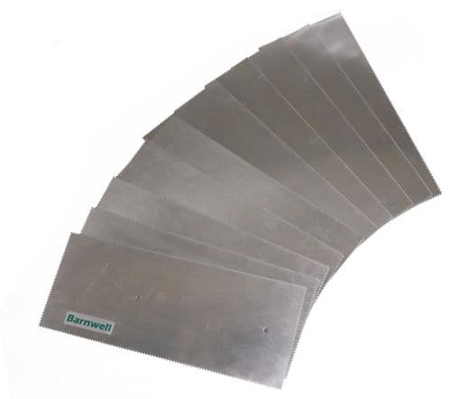 Barnwell 2.0mm Notched Adhesive Trowel Blade x 10